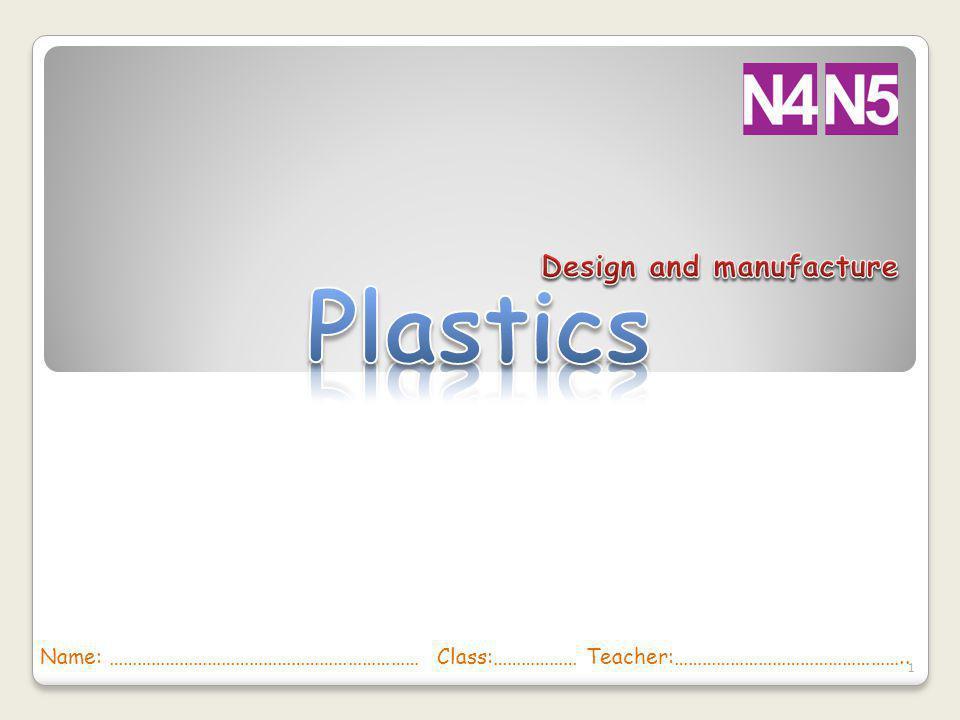 Plastics Design and manufacture