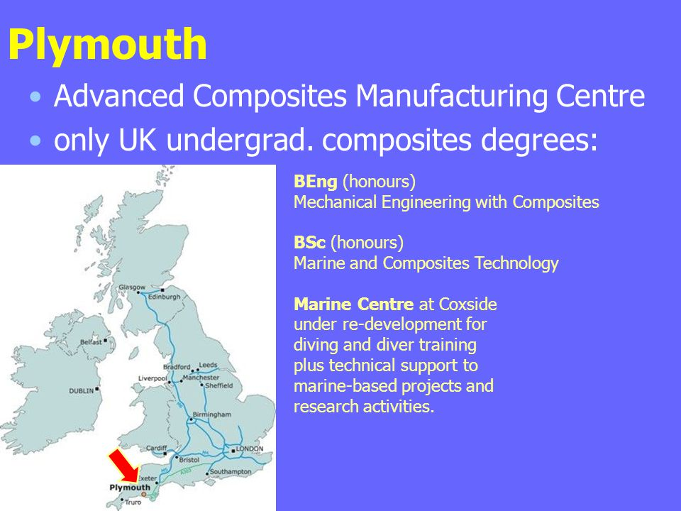 Plymouth Advanced Composites Manufacturing Centre
