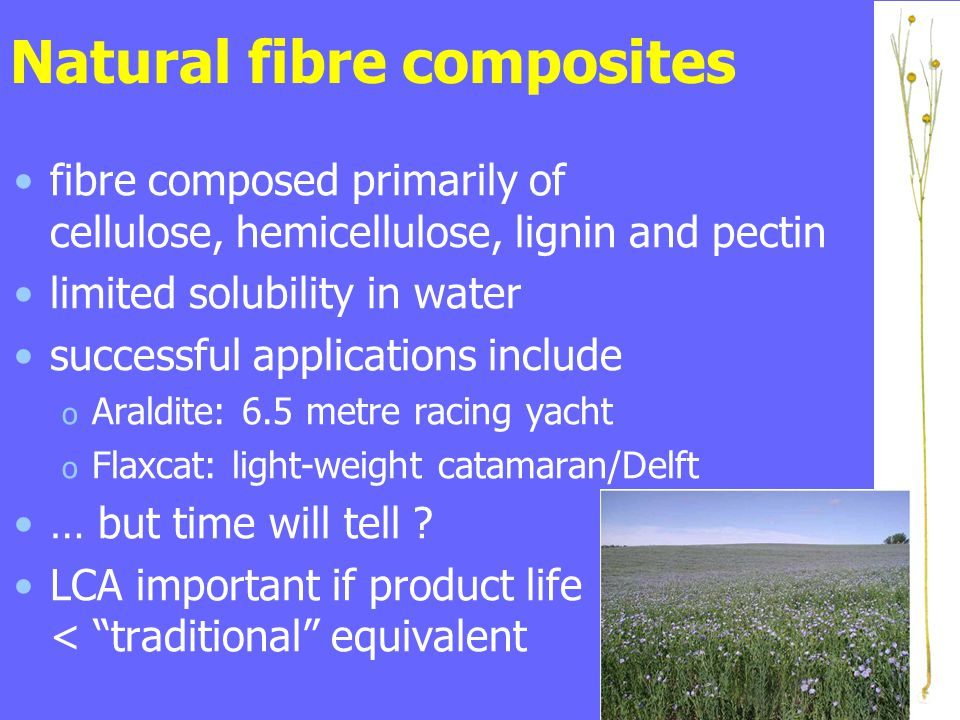 Natural fibre composites