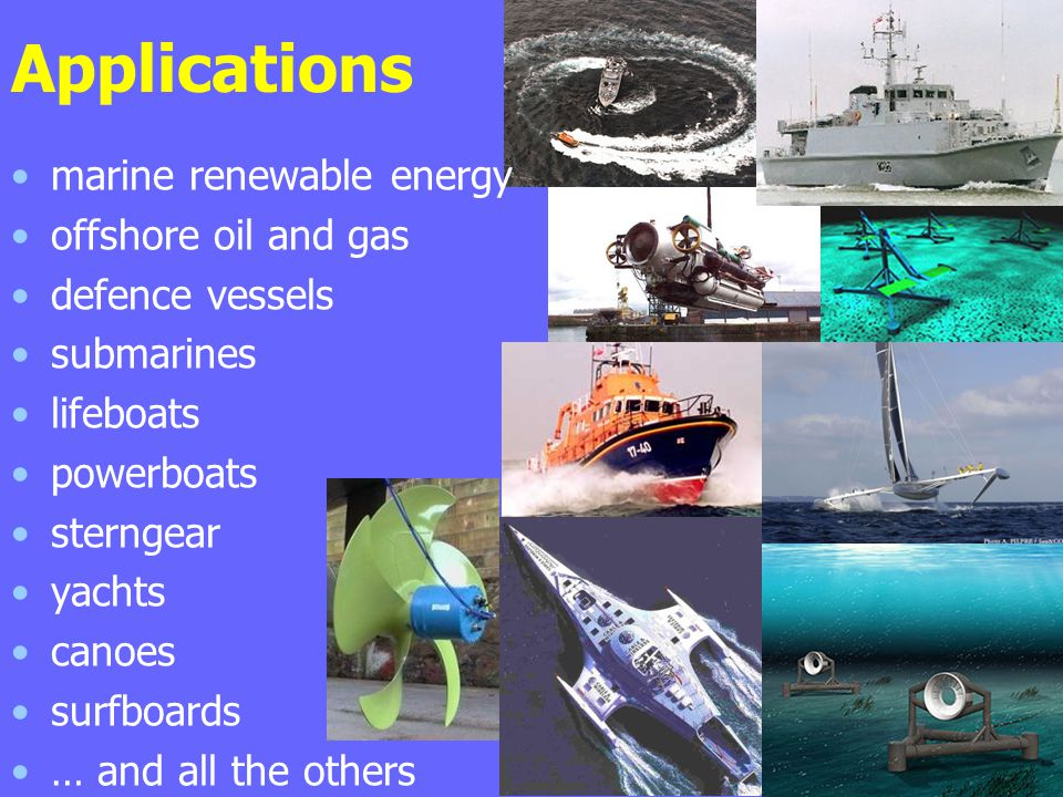 Applications marine renewable energy offshore oil and gas