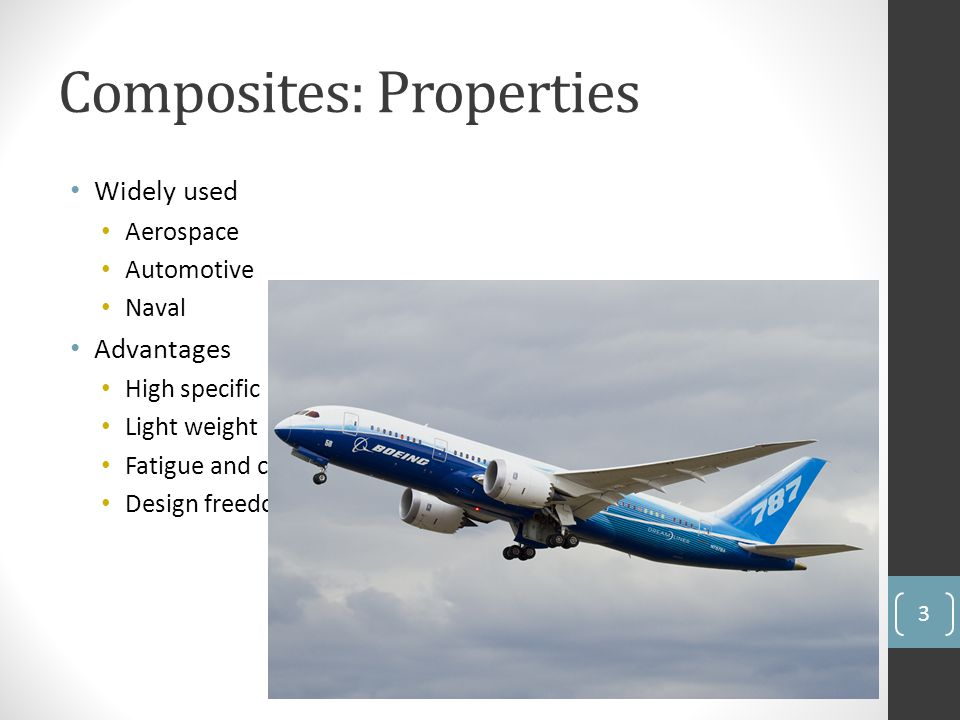 Composites: Properties