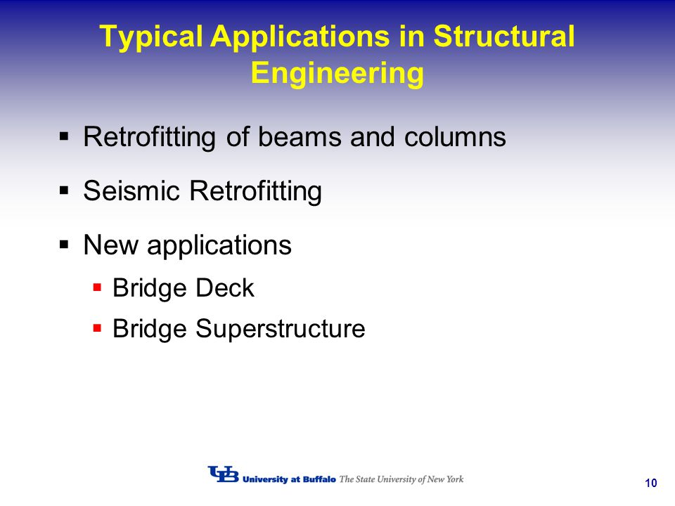 Typical Applications in Structural Engineering
