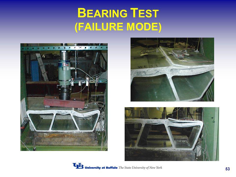BEARING TEST (FAILURE MODE)