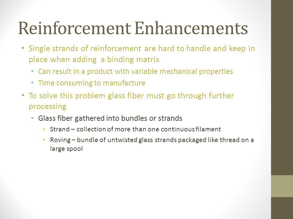 Reinforcement Enhancements
