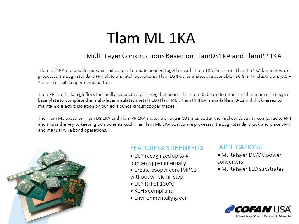 Tlam ML 1KA Multi Layer Constructions Based on TlamDS1KA and TlamPP 1KA.