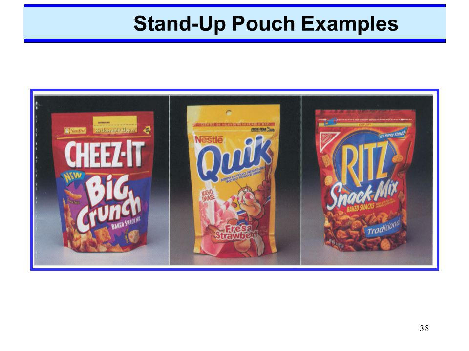 Stand-Up Pouch Examples