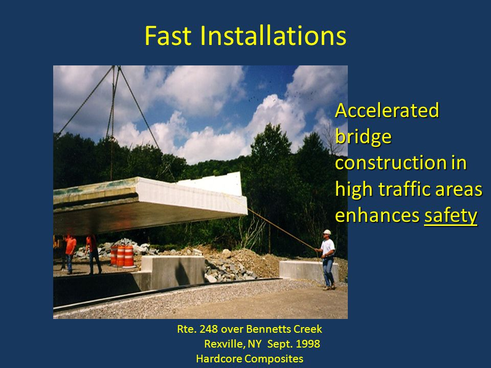 Rte. 248 over Bennetts Creek Rexville, NY Sept. 1998