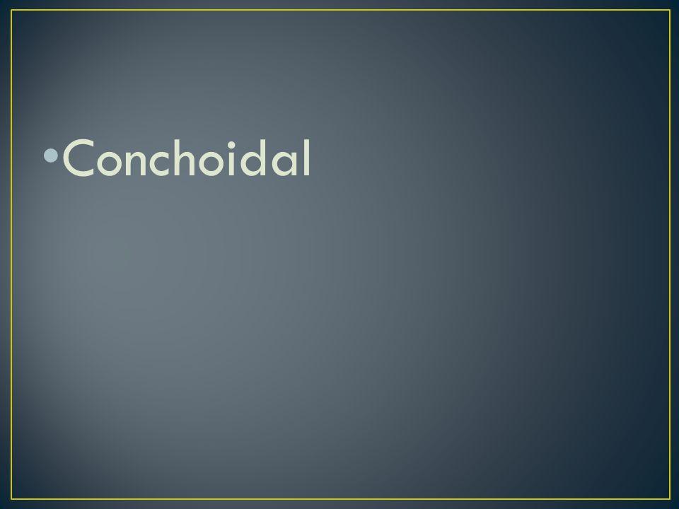 Conchoidal