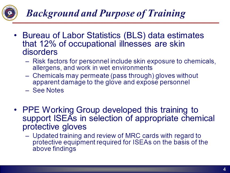 Background and Purpose of Training