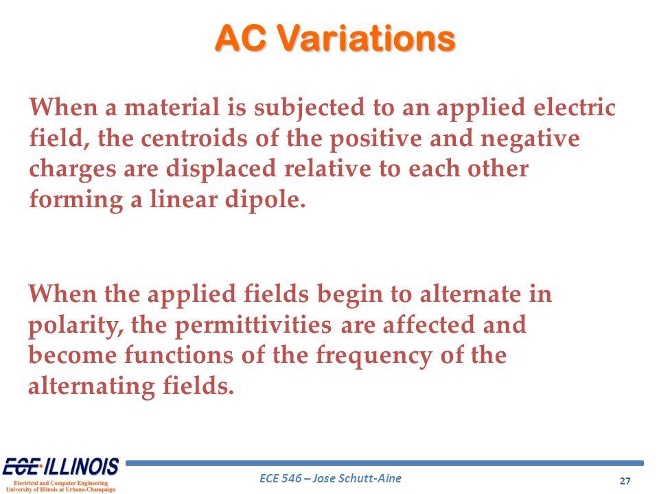 AC Variations