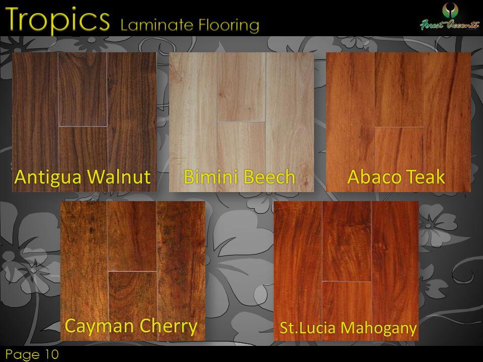Tropics Laminate Flooring