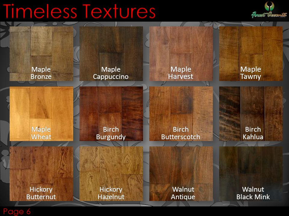 Timeless Textures Maple Harvest Maple Tawny Page 6 Maple Bronze Maple