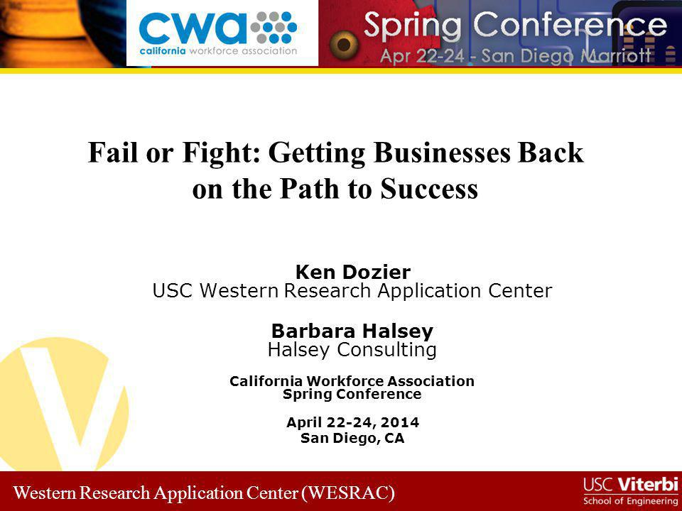 Fail or Fight: Getting Businesses Back on the Path to Success