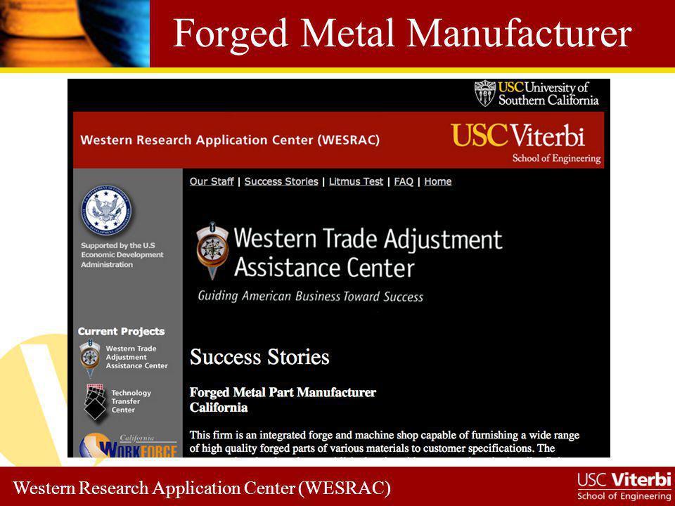 Forged Metal Manufacturer