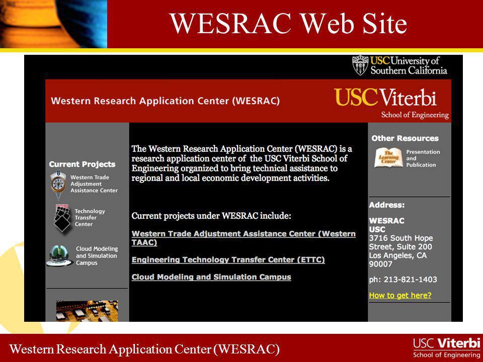 WESRAC Web Site