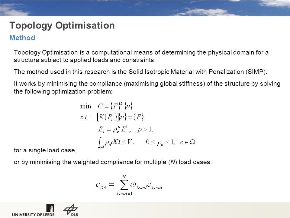 Topology Optimisation Method