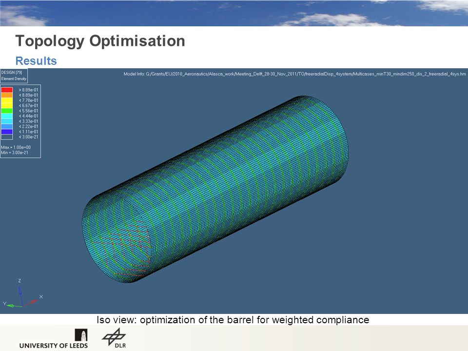 Topology Optimisation Results
