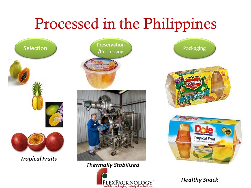Processed in the Philippines