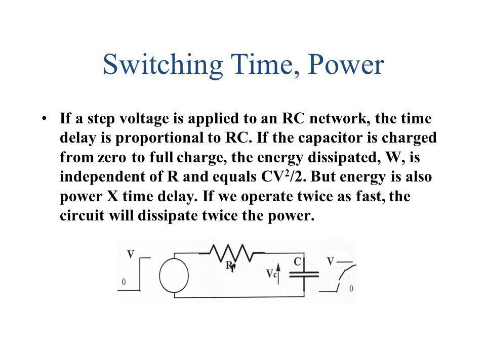 Switching Time, Power