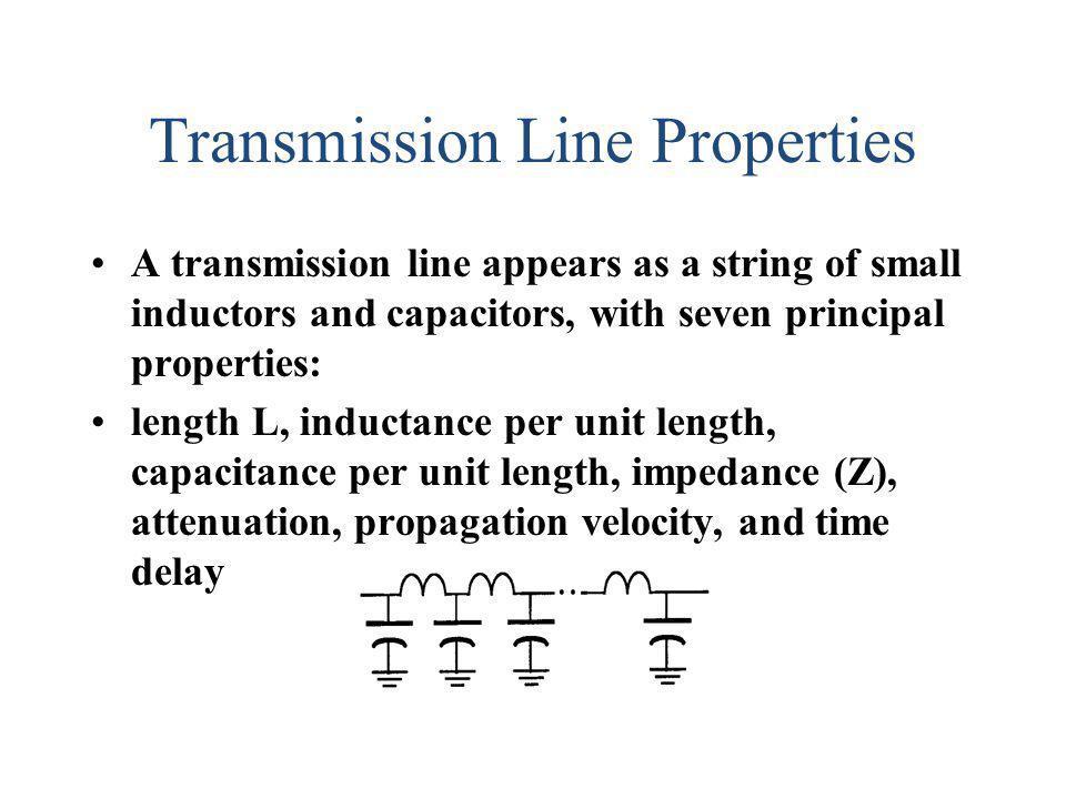 Transmission Line Properties