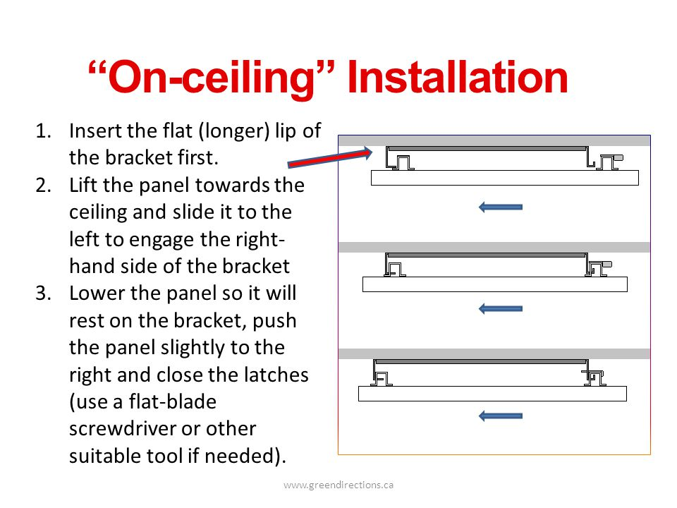 On-ceiling Installation