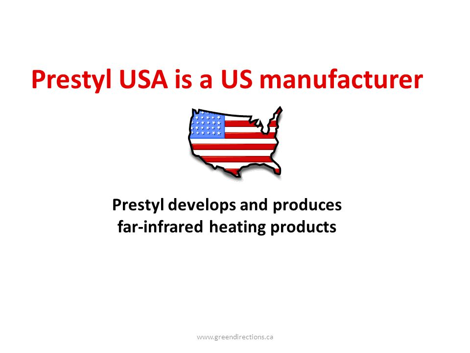 Prestyl USA is a US manufacturer