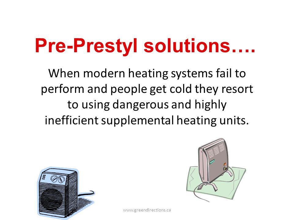 Pre-Prestyl solutions….