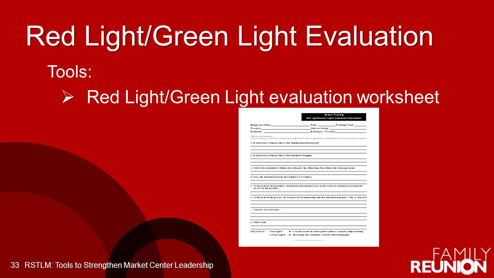 Red Light/Green Light Evaluation