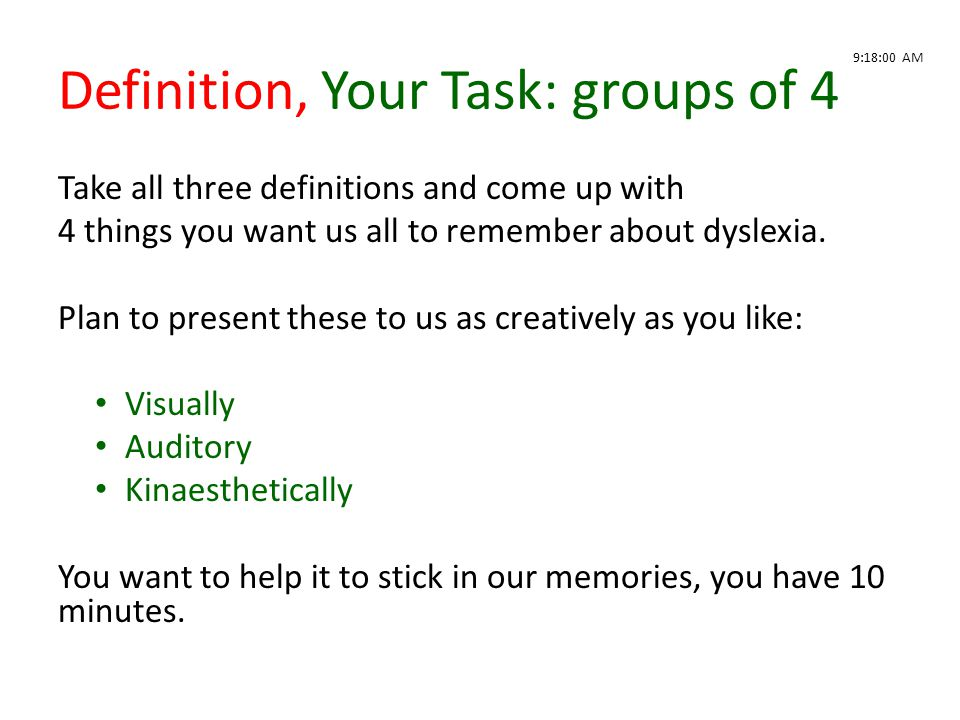 Definition, Your Task: groups of 4