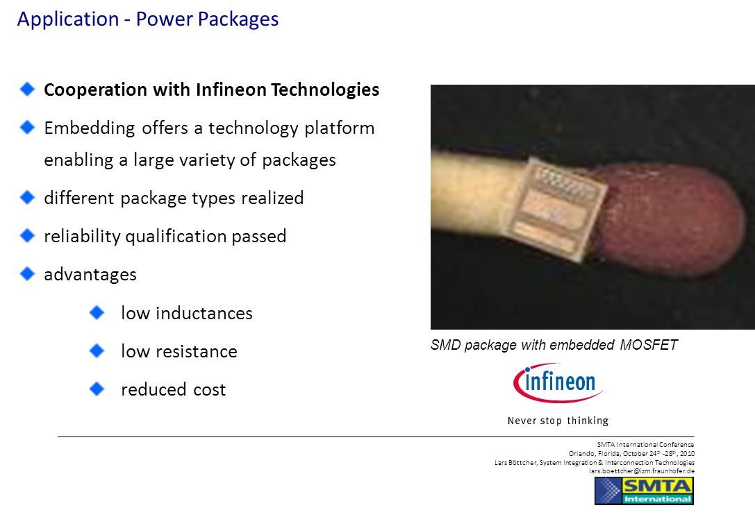 Application - Power Packages