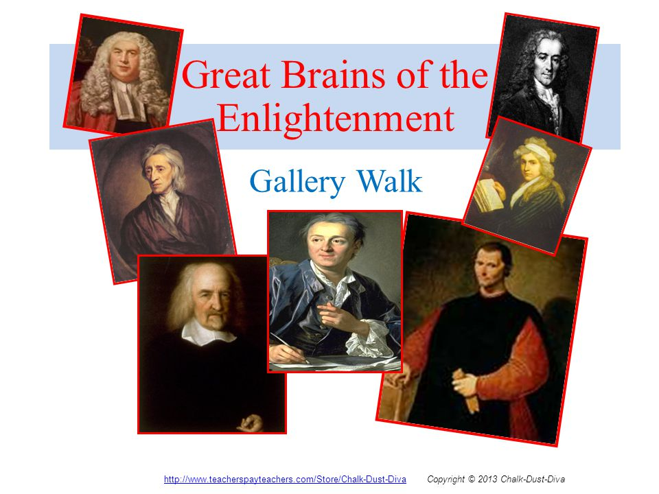 Great Brains of the Enlightenment
