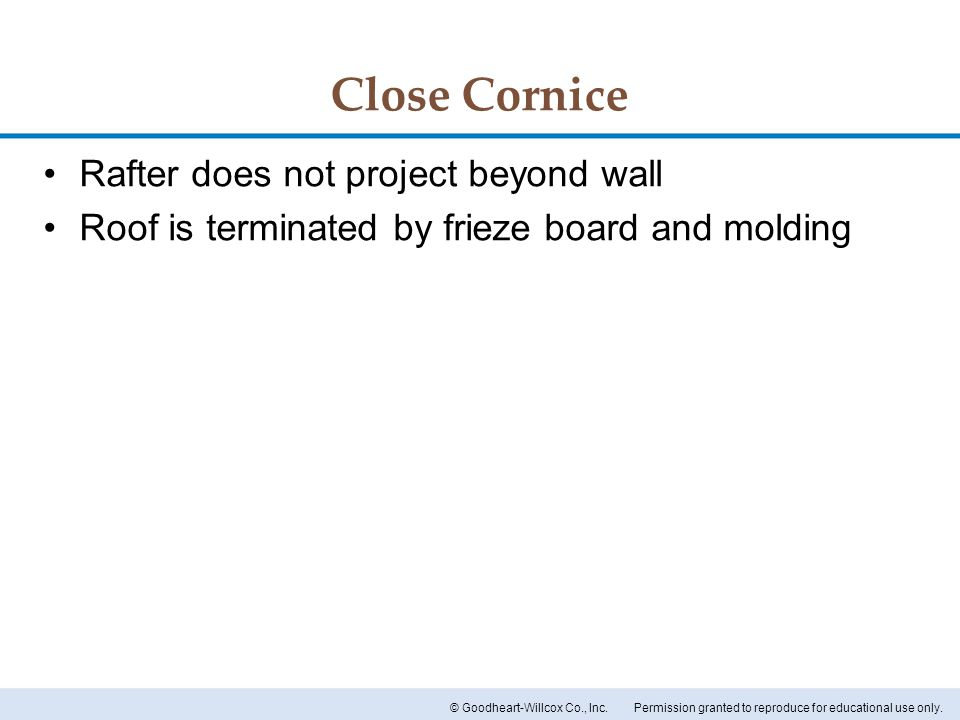 Close Cornice Rafter does not project beyond wall  sc 1 st  SlidePlayer & Chapter 16 Roof Designs. Chapter 16 Roof Designs. - ppt video ... memphite.com