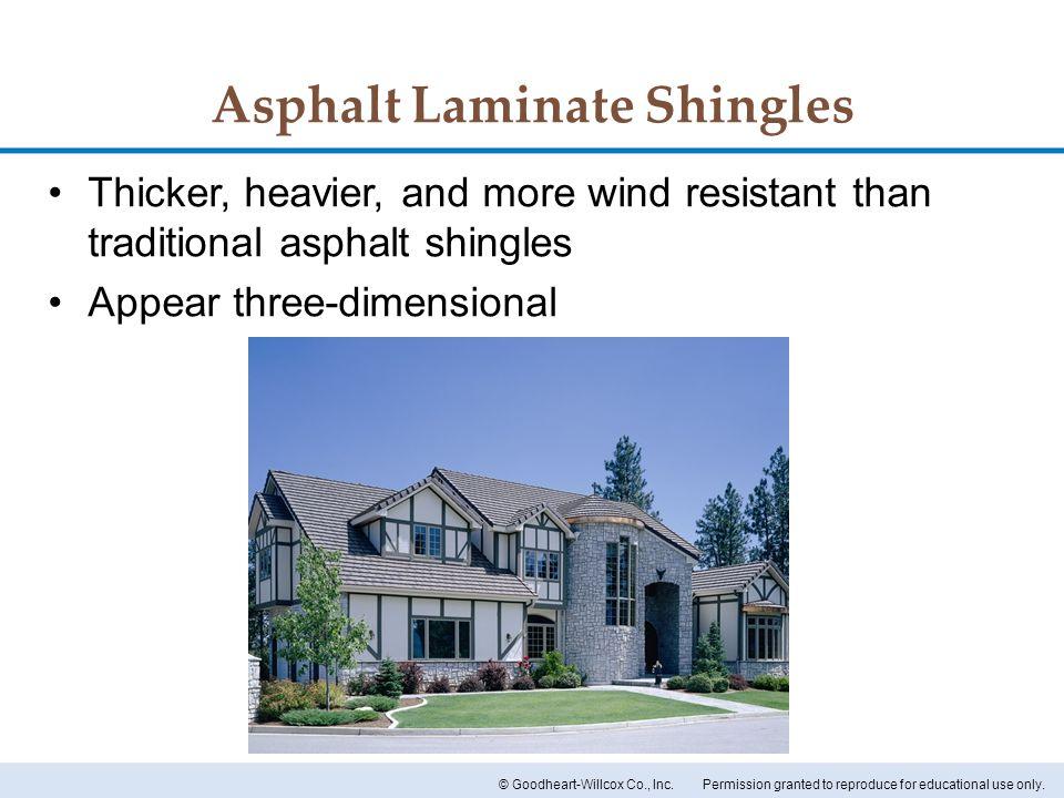 Asphalt Laminate Shingles