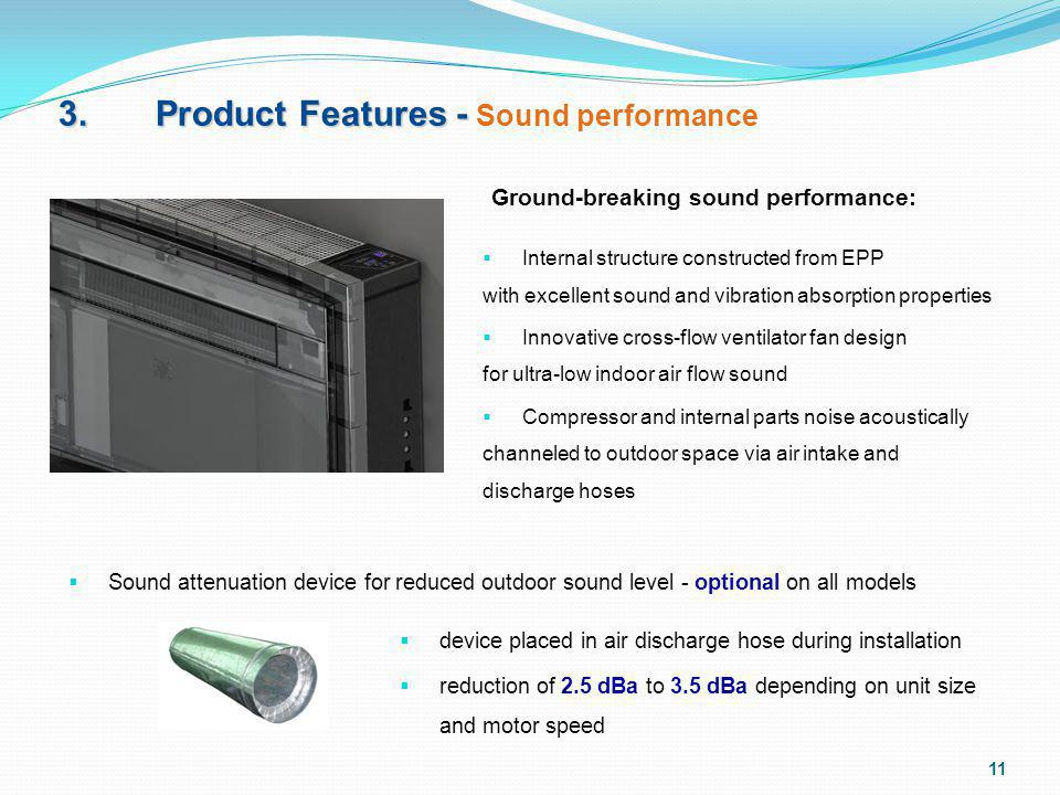 3. Product Features - Sound performance