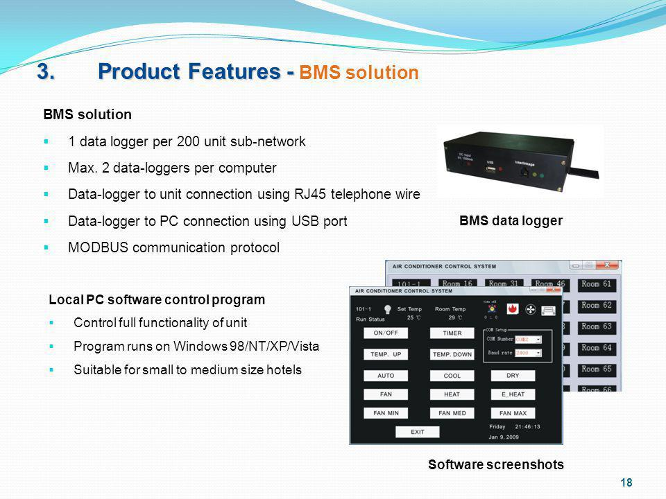 3. Product Features - BMS solution