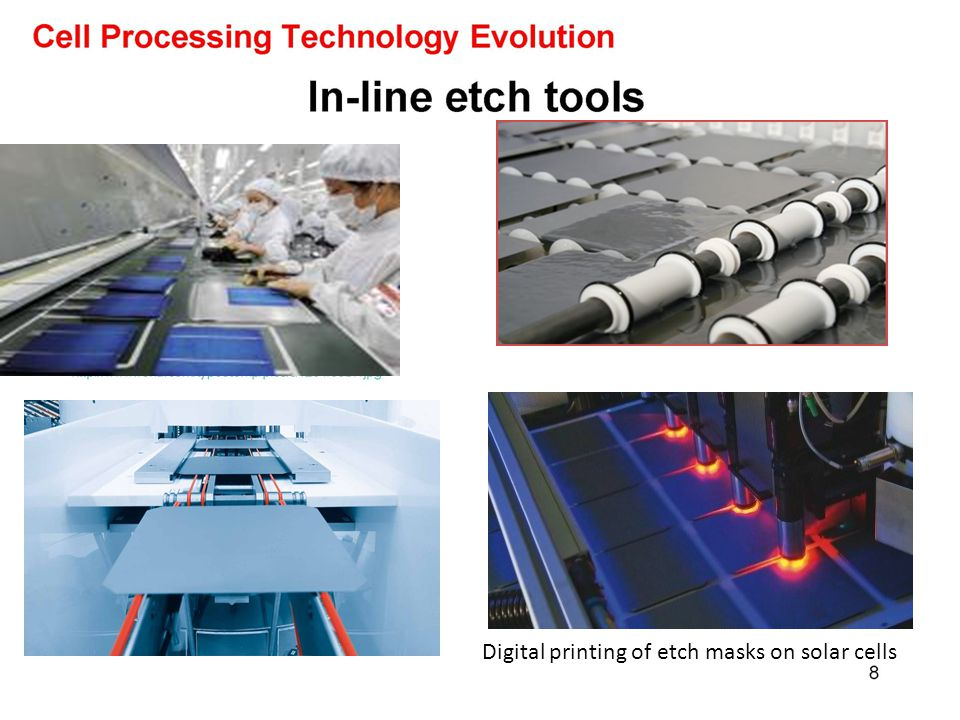 Digital printing of etch masks on solar cells
