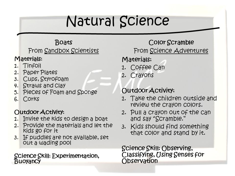 Natural Science Boats From Sandbox Scientists Color Scramble