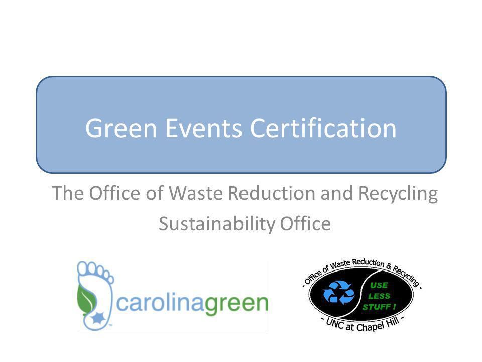 Green Events Certification
