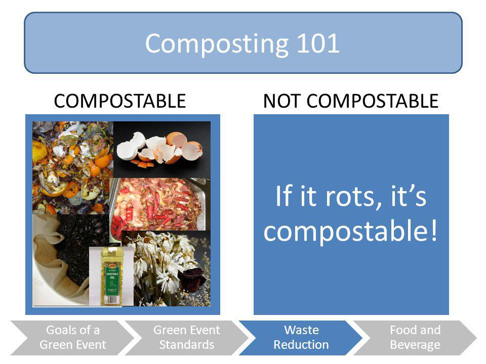 If it rots, it's compostable!