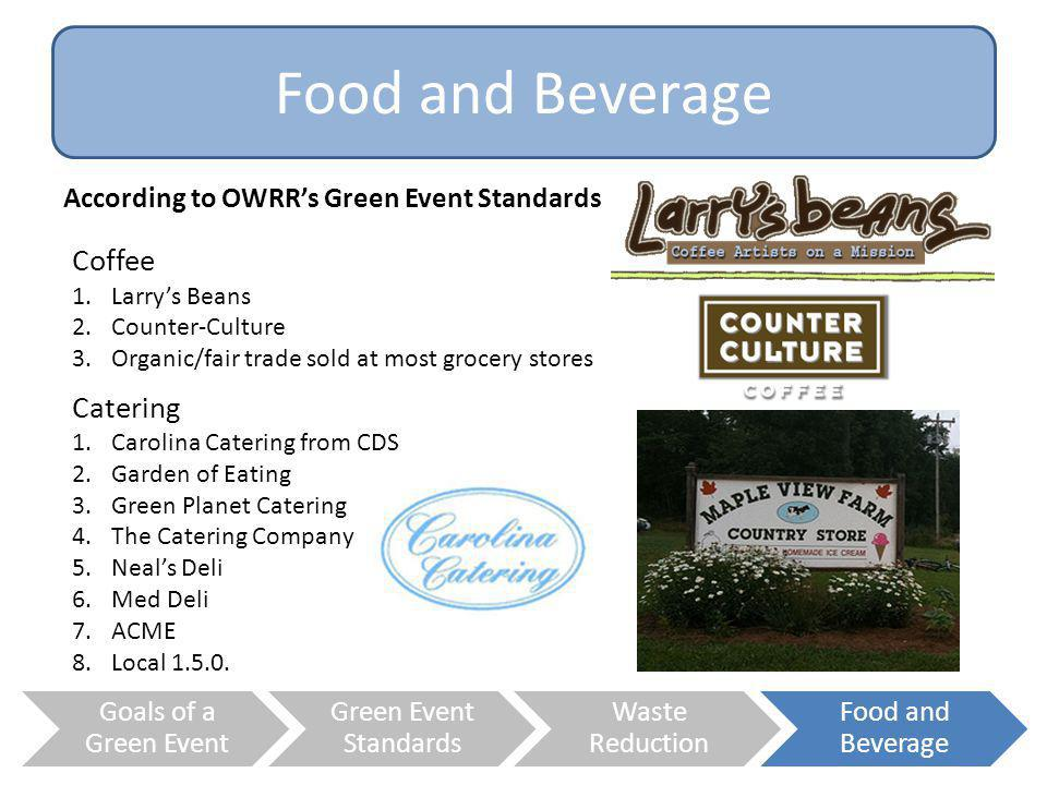 Food and Beverage Coffee Catering