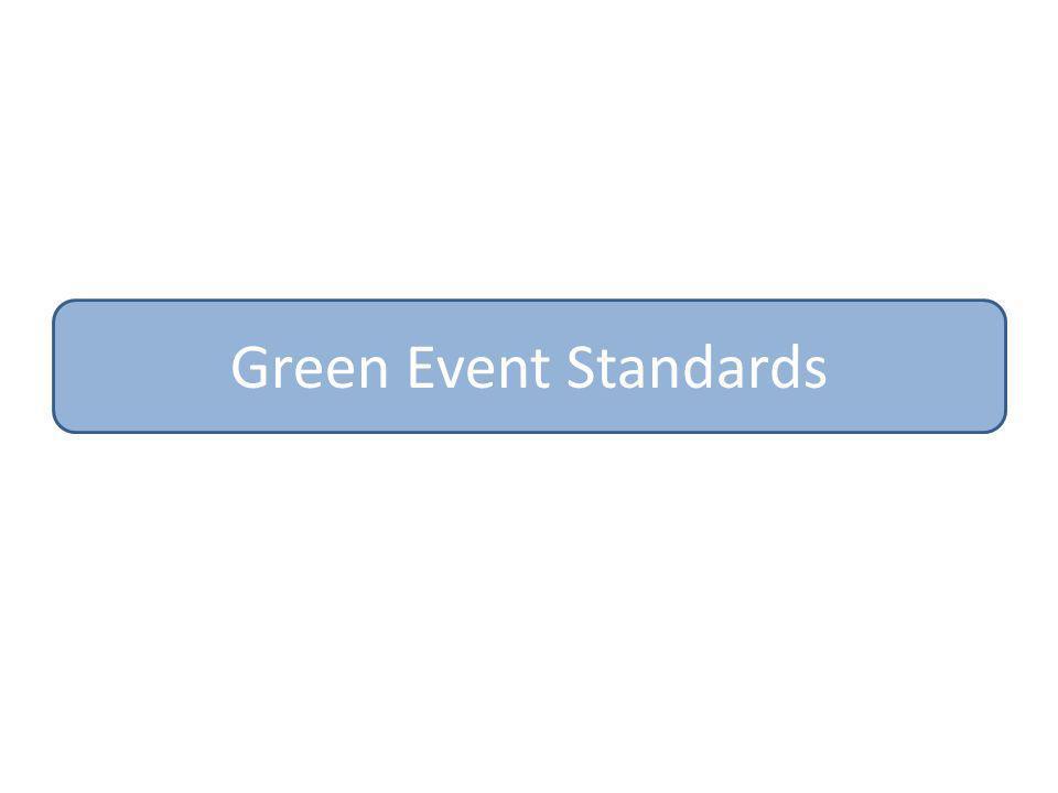 Green Event Standards