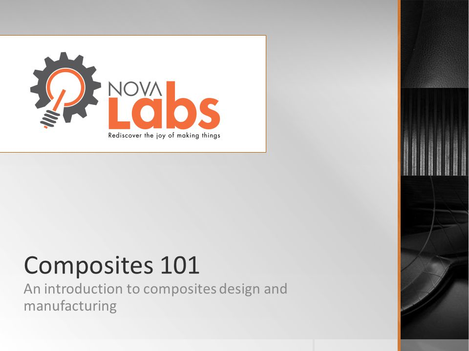 An introduction to composites design and manufacturing