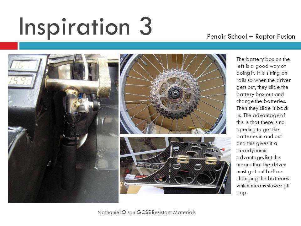 Inspiration 3 Penair School – Raptor Fusion