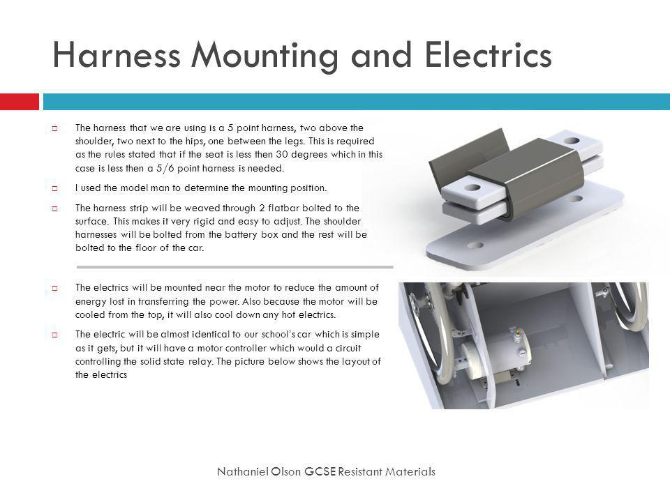 Harness Mounting and Electrics