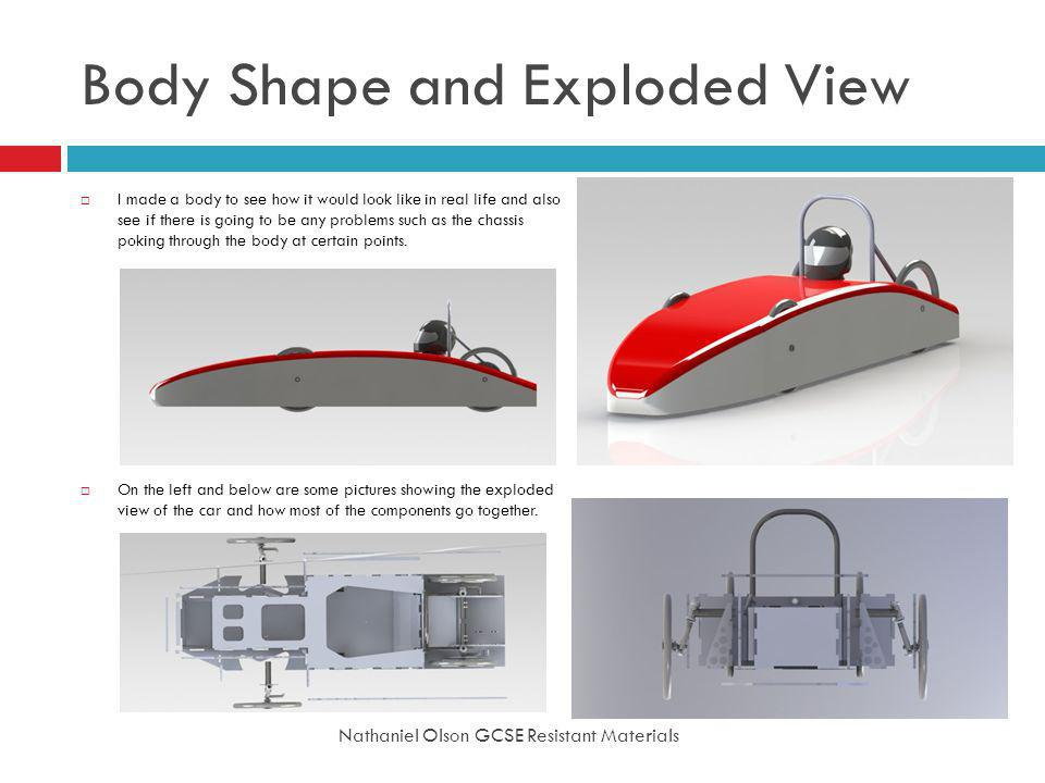 Body Shape and Exploded View