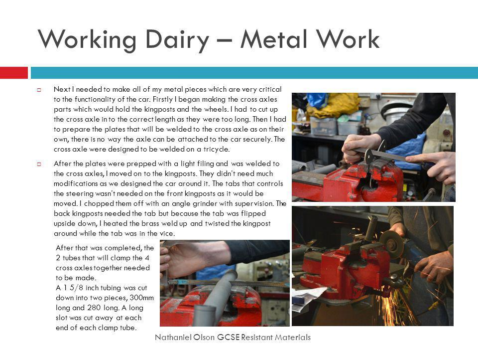 Working Dairy – Metal Work
