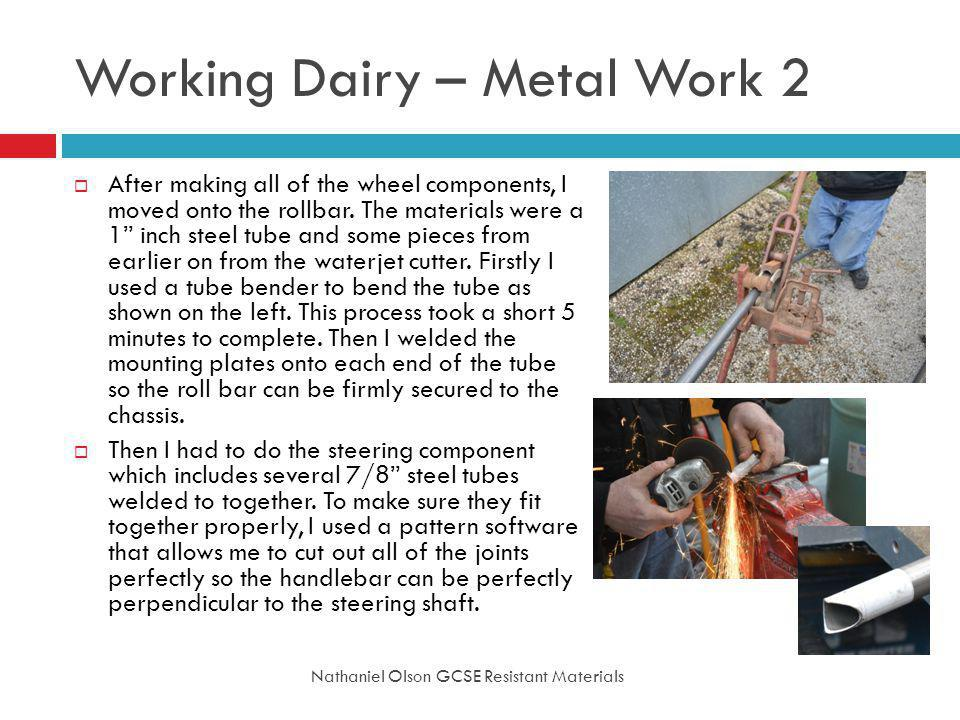 Working Dairy – Metal Work 2