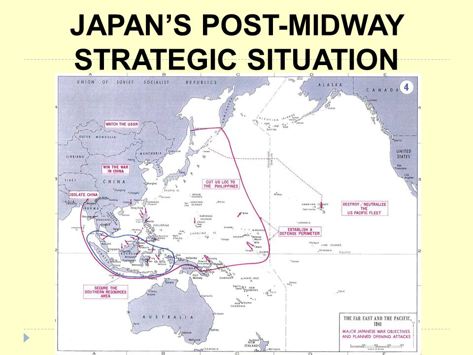 JAPAN'S POST-MIDWAY STRATEGIC SITUATION