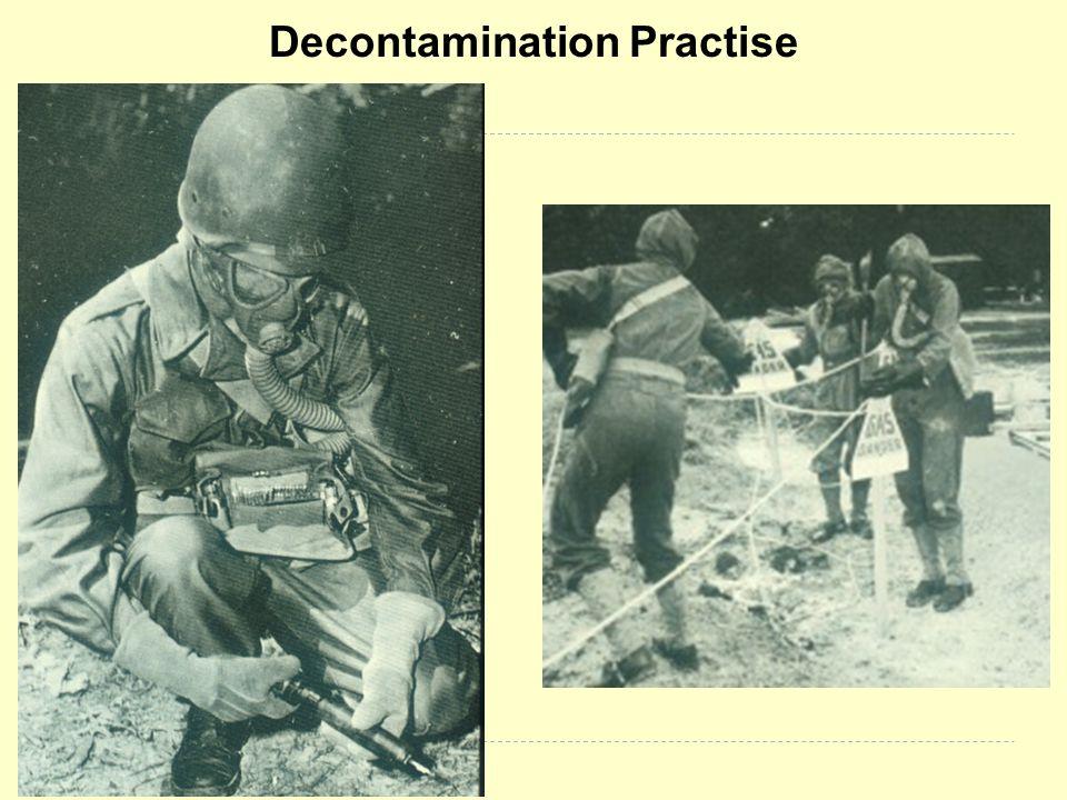 Decontamination Practise