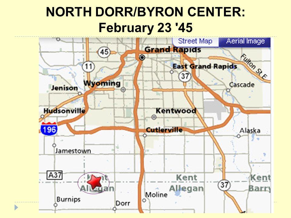 NORTH DORR/BYRON CENTER: February 23 45